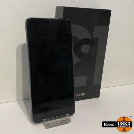 Samsung Galaxy S21 5G 128GB Phantom Gray in Doos incl. Lader