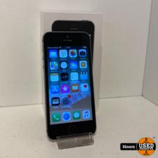 iPhone 5S 16GB Space Gray Compleet in Doos