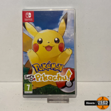 Nintendo Switch Game: Let's Go Pikachu
