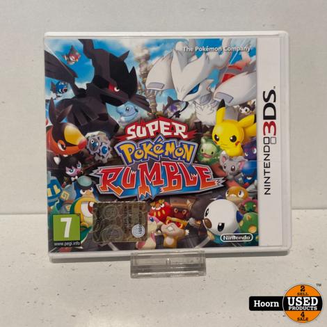 Nintendo 3DS Game: Super Pokemon Rumble