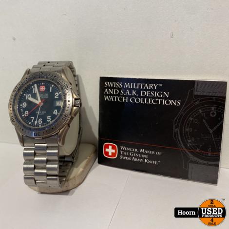 Wenger Swiss Army 097.0656 41mm Horloge