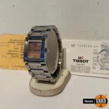 Tissot T63.1.185.61 Quartz Orange Dial Horloge 19.5mm x 21mm