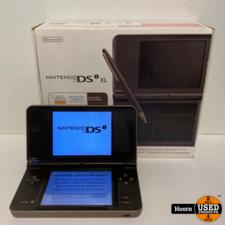 Nintendo Nintendo DSi XL Brons Compleet in Doos incl. Lader in Zeer Nette Staat
