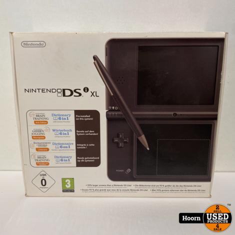 Nintendo DSi XL Brons Compleet in Doos incl. Lader in Zeer Nette Staat