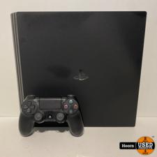 Playstation 4 Playstation Pro 1TB Zwart Compleet incl. Controller