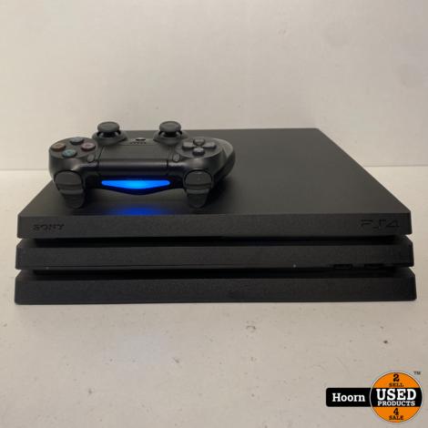 Playstation Pro 1TB Zwart Compleet incl. Controller