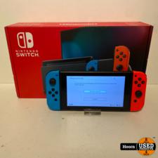 Nintendo Nintendo Switch Gen2 Rood/Blauw Compleet in Doos in Nette Staat