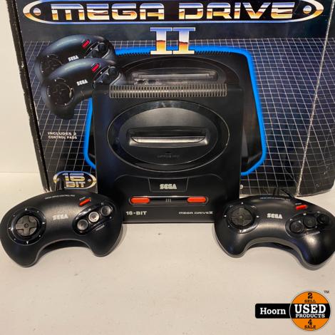 Sega Mega Drive II Compleet in Doos incl. 2 Controllers