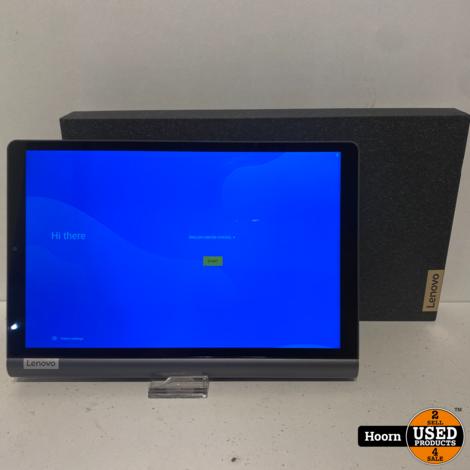 Lenovo YT-X705F Yoga Smart Tab 32GB Iron Grey 10.1'' Tablet Compleet in Doos