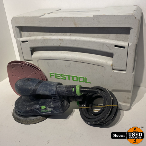 Festool ETS EC 150/3 EQ Excenterschuurmachine Ø150mm 400W in Systainer