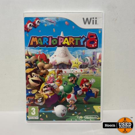 Nintendo Wii Game: Mario Party 8