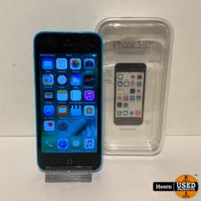 Apple iPhone iPhone 5C 16GB Blue in Doos incl. Lader