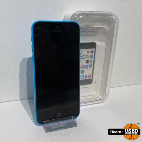 iPhone 5C 16GB Blue in Doos incl. Lader