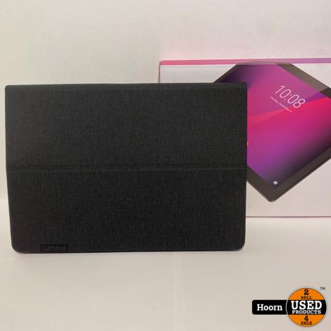 Lenovo Tab M10 HD 32GB Black Compleet in Doos in Zeer Nette Staat