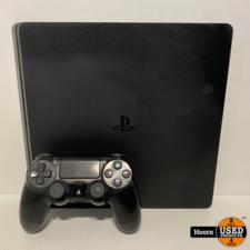 Playstation 4 Playstation 4 Slim 500GB Zwart Compleet met Controller en Kabels