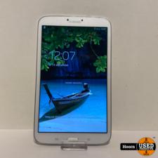 Samsung Galaxy Tab 3 8.0 inch 16GB Wifi Wit incl. Lader