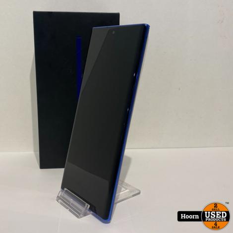 Samsung Galaxy Note 10 Plus 256GB Aura Blue in Doos