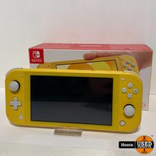 Nintendo Switch Lite 2019 Yellow in Doos incl. Lader
