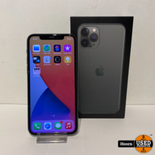 Apple iPhone iPhone 11 Pro 64GB Midnight Green Compleet in Doos Accu: 84%