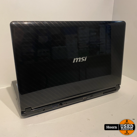 MSI CR720-098NL 17.3'' Laptop incl. Lader