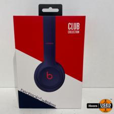 Beats Solo3 Wireless On-Ear Koptelefoon Beats Club Collection - Club Navy ZGAN Compleet in Doos