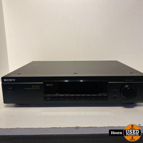 Sony ST-SA3ES High-End FM/AM Stereo Tuner Zwart