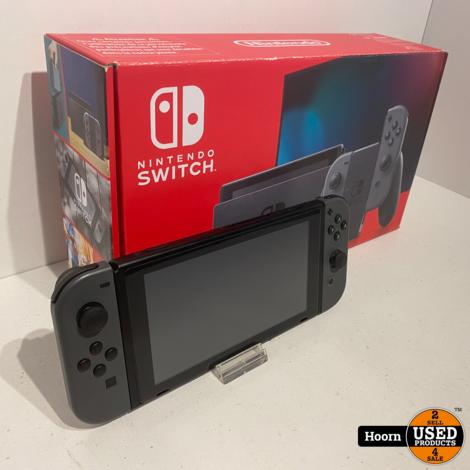 Nintendo Switch Gen2 Zwart Compleet in Doos
