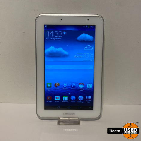 Samsung Galaxy Tab 2 7.0 inch Wifi Wit incl. Lader