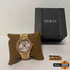 Guess Guess W0111L3 Dames Horloge in Doos incl. Extra Schakels
