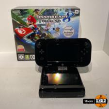 Nintendo Wii U 32GB Zwart Compleet in Doos
