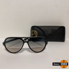 Ray-Ban Ray-Ban Cats 5000 Classic RB4125 Zonnebril in Hoes