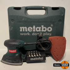Metabo Metabo FMS 200 Intec Schuurmachine in Koffer