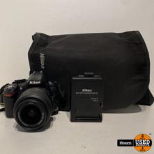 Nikon Nikon D3100 Body + 18-55mm VR Lens Compleet incl. Lader en Tas