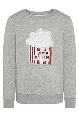 Name It Popcorn sweater grijs