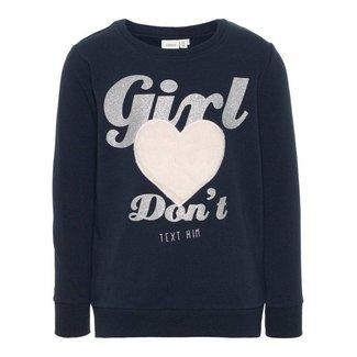 "Name It Sweater ""Heart"""