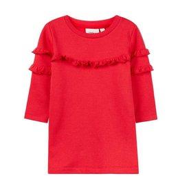 Name It Sweater jurk rood