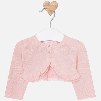 Mayoral Cardigan pink baby girl