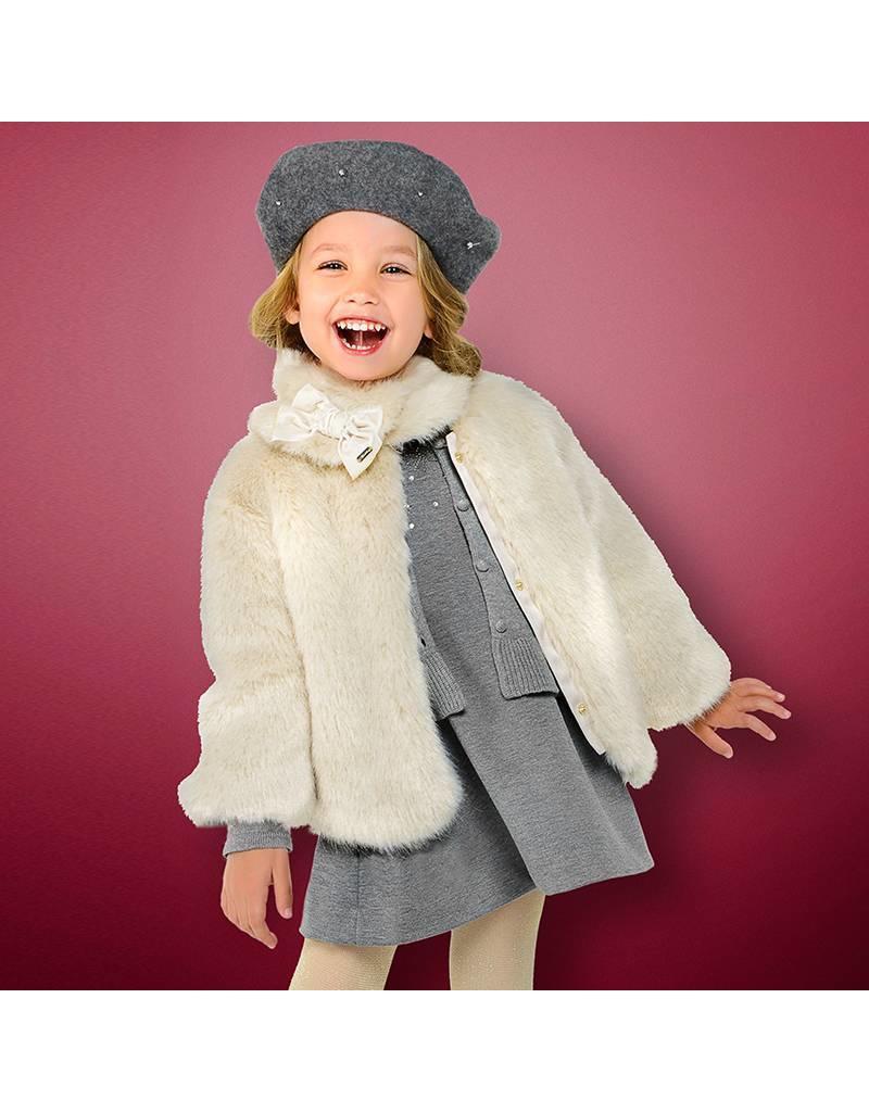 Mayoral Faux fur jas
