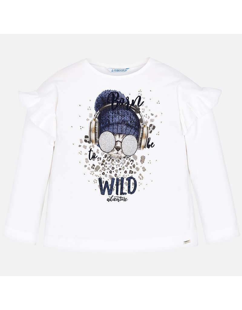 Mayoral Tshirt to be wild