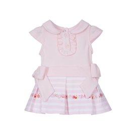 Lapin House Babyjurk pink