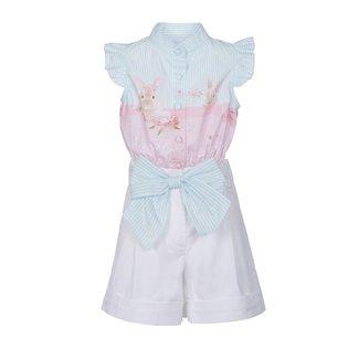 Lapin House Set bloes en rok konijn
