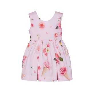Lapin House Jurk flowers pink