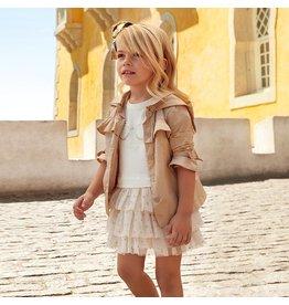 Mayoral Voile dress                   Golden