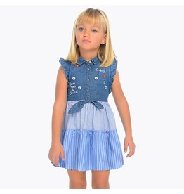 Mayoral Denim dress                   Denim