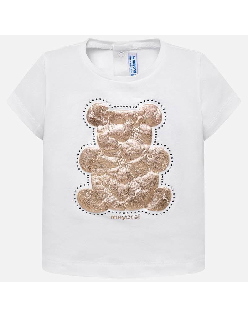 Mayoral Basic s/s t-shirt             White