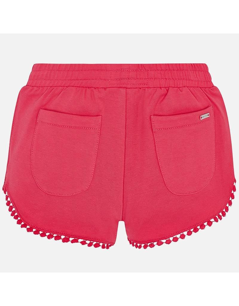 Mayoral Chenille shorts               AzaleaPink