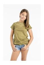 Lemon Beret Teen girls short denim