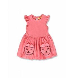 Lemon Beret Baby girls jurk pink