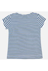 Mayoral S/s striped t-shirt           Nautical