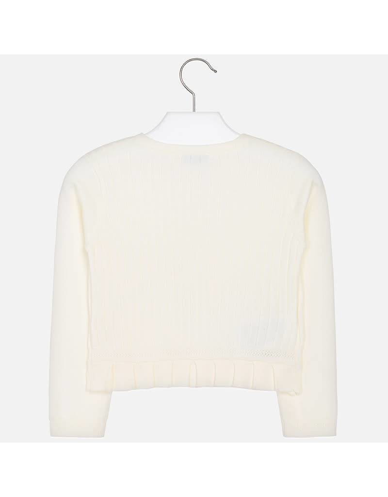 Mayoral Knitted cardigan              Cream